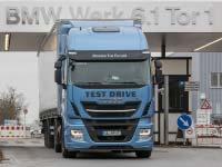 Täglich von Steyr nach Regensburg und zurück: BMW Group testet Lkw mit Flüssig-Erdgas