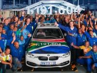 Bye Bye BMW 3er: Nach 35 Jahren läuft im BMW Group Werk Rosslyn die BMW 3er Limousine zum letzten Mal vom Band