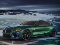 Das BMW Concept M8 Gran Coupé zeigt eine neue Interpretation von Luxus für die Marke BMW.