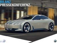 BMW Group Bilanzpressekonferenz 2018: Reden BMW Chef Harald Krüger und Finanzvorstand Niclas Peter.