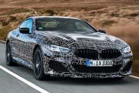 Das neue BMW 8er Coupé: Mit höchster Dynamik auf dem Weg zur Serienreife.