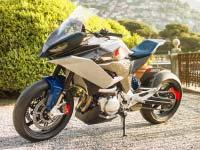 BMW Motorrad Concept 9cento. Ein smarter Alleskönner für die Straße.