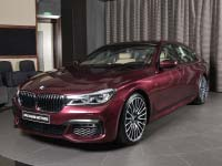 BMW 740Li (G12) in BMW Individual Wildberry
