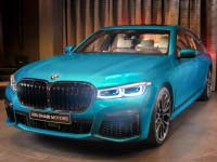 BMW M760Li (Faceliftmodell 2019) in BMW Individual Atlantis Blau