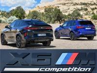 Der neue BMW X5 M und BMW X5 M Competition. Der neue BMW X6 M und BMW X6 M Competition.