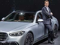 Interview zur neuen Mercedes S-Klasse mit Mercedes CEO Källenius und Forschungsvorstand Schäfer.