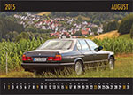 7-forum.com Wandkalender 2015, August-Motiv: BMW 730i (E32) von Forums-Moderatrin 'Jeff Jaas'