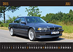 7-forum.com Wandkalender 2015, Juli-Motiv: BMW 750i (E38) im Alpina-Dress von 'Alpina007'