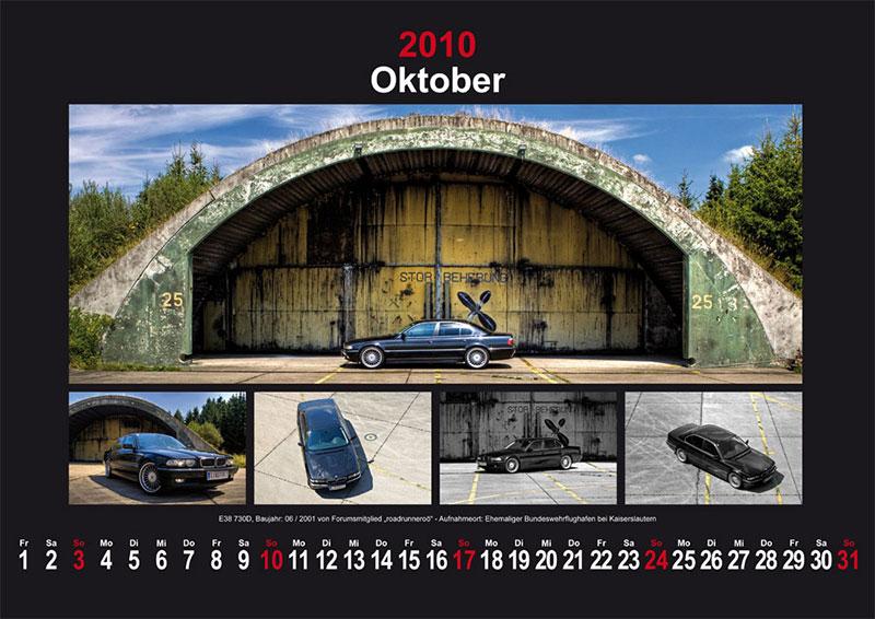 Oktober 2010: E38 730d Baujahr 06/2001 von Forumsmitglied roadrunneroö - Aufnahmeort: Ehemaliger Bundeswehrflughafen bei Kaiserslautern