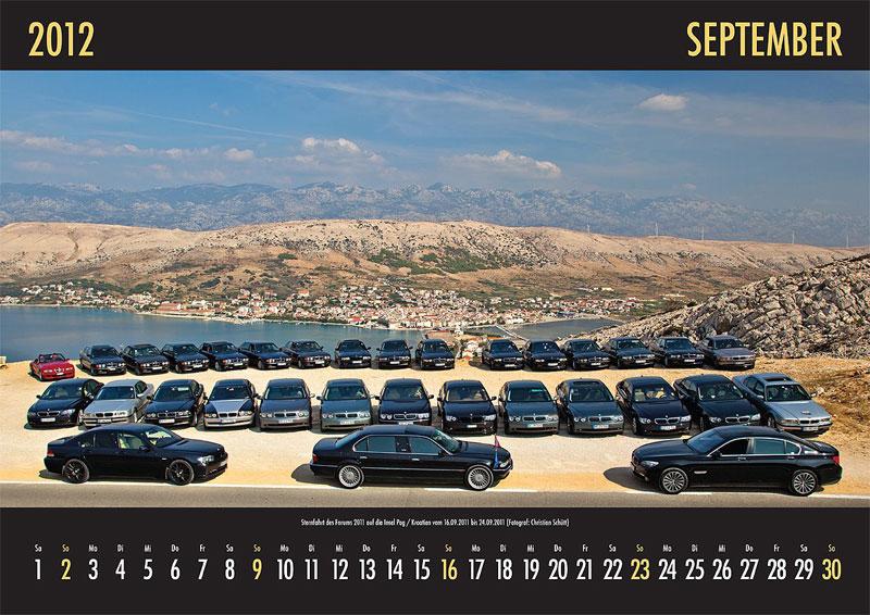 September-Motiv: Sternfahrt des Forums 2011 auf die Insel Pag/Kroatien vom 16.-24.09.2011