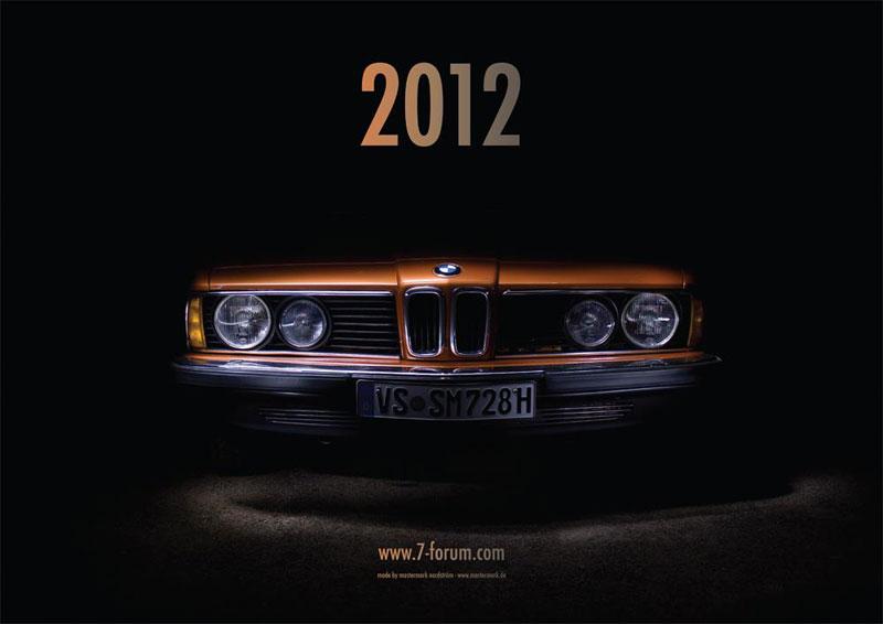 7-forum.com Jahreskalender 2012, Titelblatt