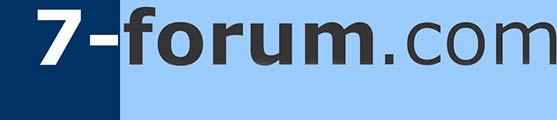 7-forum.com Logo