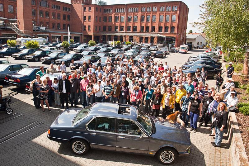 7-forum.com Jahrestreffen 2013: Gruppenfoto in der Klassikstadt in Frankfurt/Main