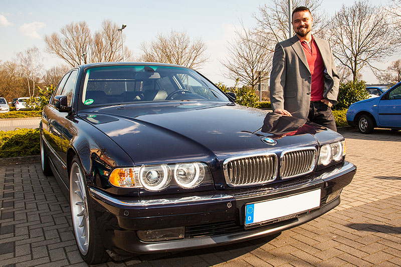 Alain Alien Und Sein BMW 730i E38 In Neuem Dress