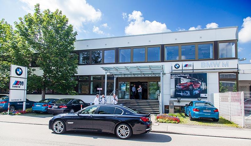 BMW M GmbH in Garching in der Daimlerstraße