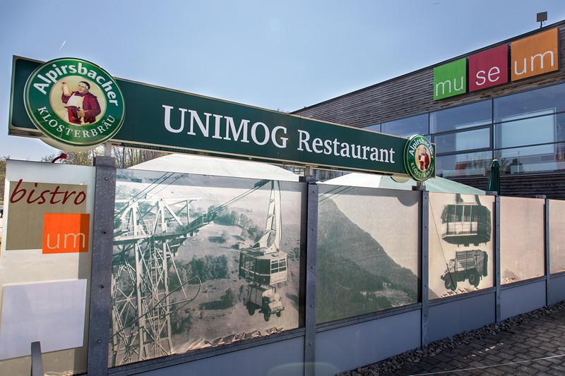 Unimog Museum Gaggenau, Restaurant