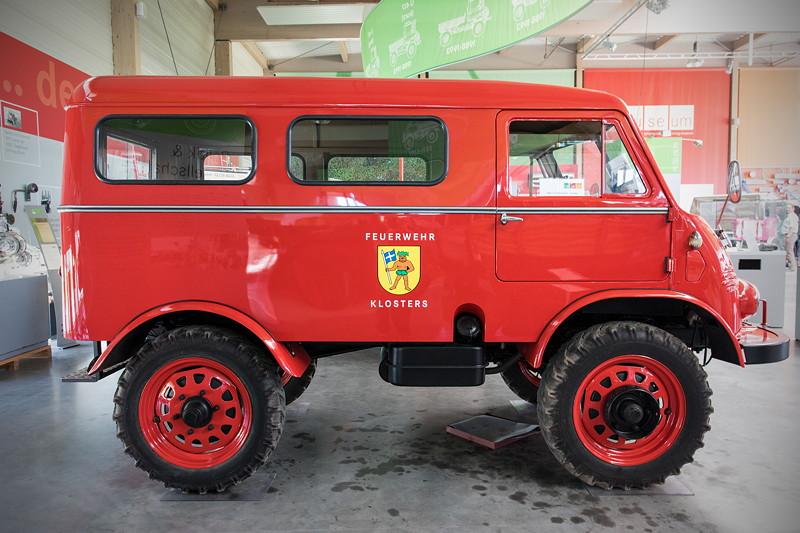 Unimog U402 Mannschaftstransportwagen, Besitzer: Alfred Wernhoff