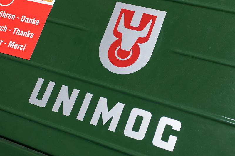 ursprüngliches Unimog Logo mit dem Stier