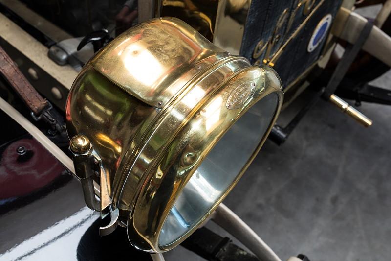 LKW SAG, Typ 1500, Detail Scheinwerfer