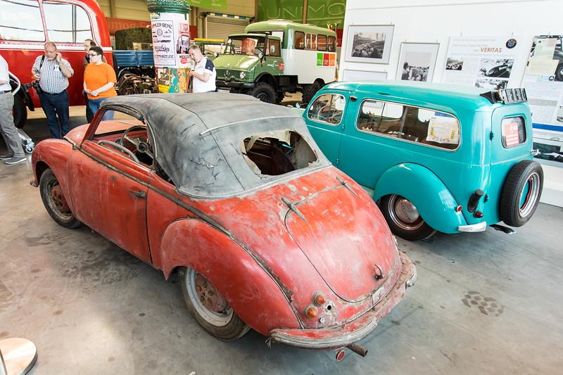 Der Veritas-Scheunenfund: Dyna Veritas Cabriolet, Hersteller: Veritas Badische Automobilwerke, 2 Zylinder, 50 PS