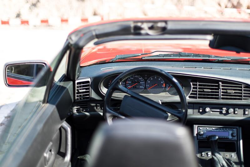Porsche 944 Cabrio von Renate ('Renate') und Matthias ('Telekom-iker'), Cockpit
