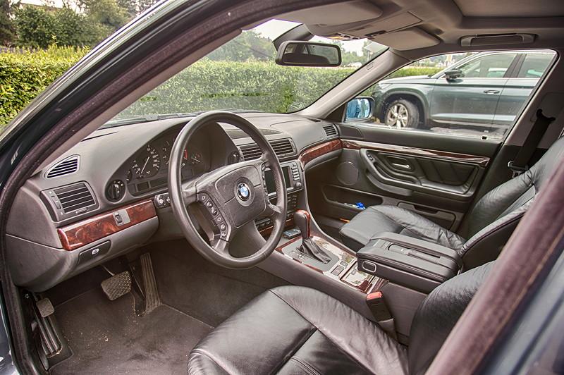 BMW 735i (E38) von Günter ('Aschallnick'), Blick in den Innenraum