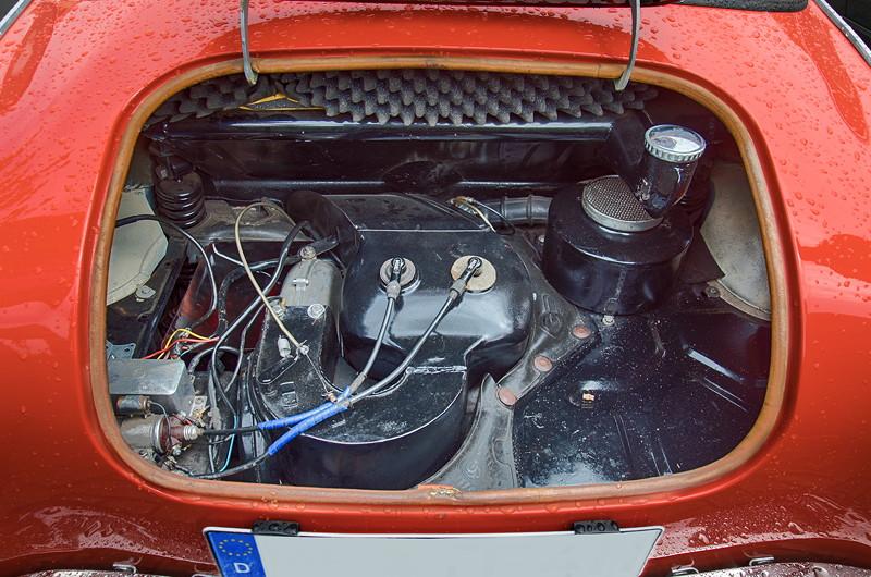 Goggomobil TS 250 Coupé von Ralf ('asc-730i'), 2-Zylinder 2-Takt-Motor im Heck, 247 ccm, 13.6 PS
