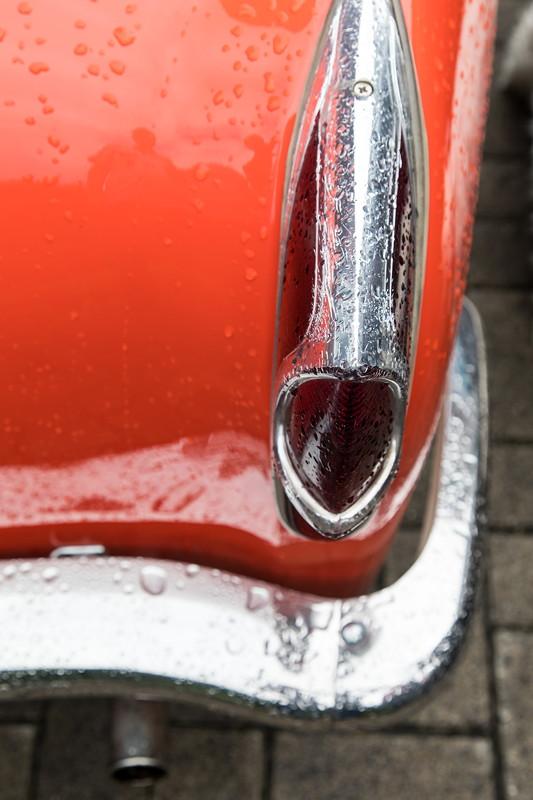 Goggomobil TS 250 Coupé von Ralf ('asc-730i'): Rücklicht, Stoßstange und Auspuff verchromt