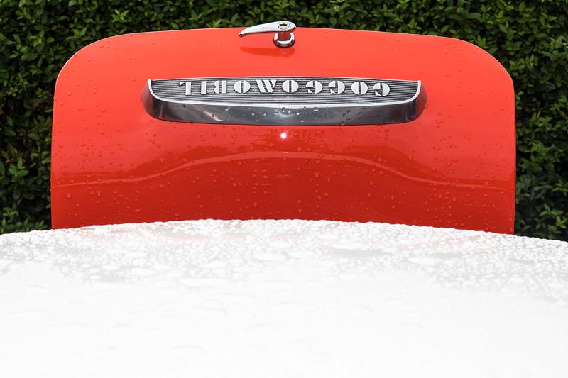 Goggomobil TS 250 Coupé von Ralf ('asc-730i'). Unter der Heckklappe verbirgt sich der Motor. Einen üblichen Kofferraum gibt es nicht.