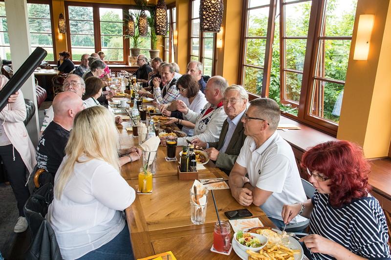 Rhein-Ruhr-Stammtisch im Juli 2017 im Café del Sol in Castrop-Rauxel, später am gewohnten Stammtisch.