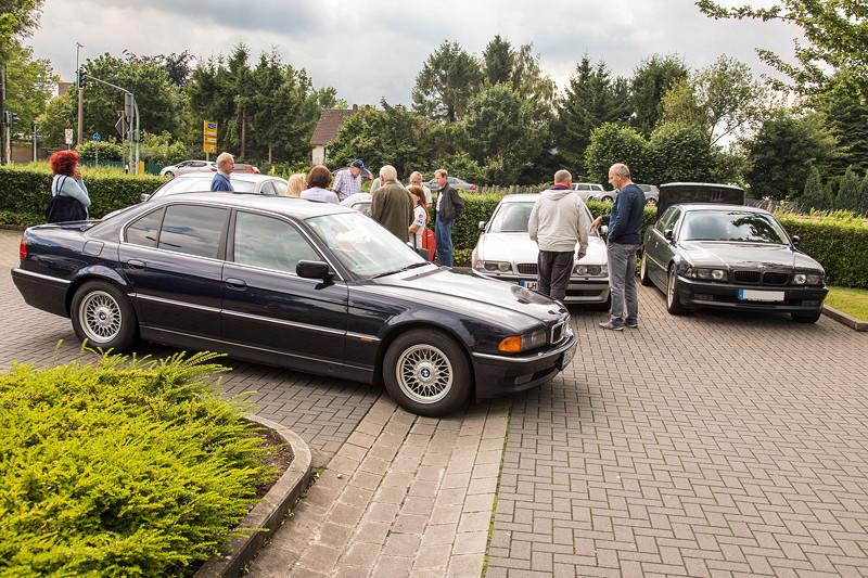 Rhein-Ruhr-Stammtisch im Juli 2017, Benzingeflüster und Autoschaus auf dem Parkplatz des Café del Sol in Castrop-Rauxel