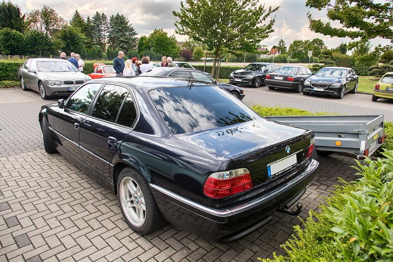 BMW 740i (E38) Individual von Frank ('heliman4'), mit Anhängerkupplung.