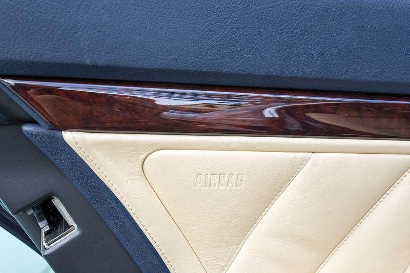 BMW 740i (E38) Individual von Frank ('heliman4'), Tür hinten mit Seiten-Airbag
