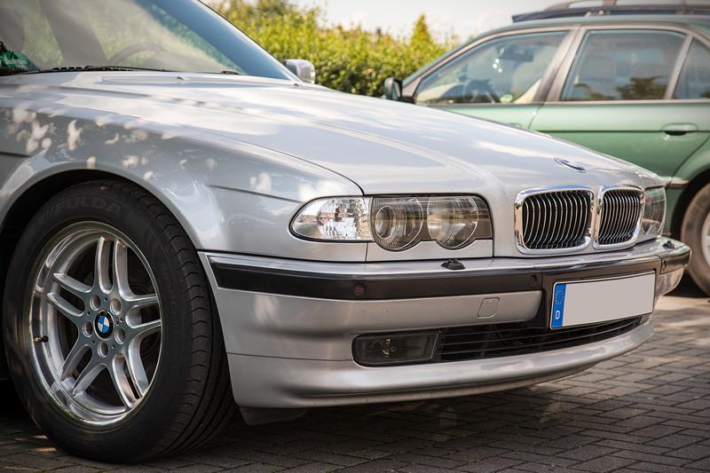 Rhein-Ruhr-Stammtisch im August 2017: BMW 740i (E38) von Holger ('Holger 1965')