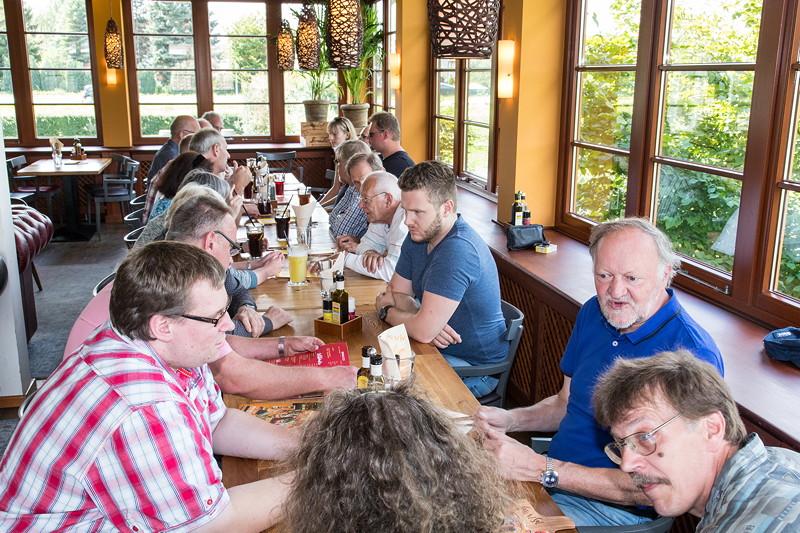 7er-Stammtisch 'Rhein-Ruhr' im August 2017 im Café del Sol in Castrop-Rauxel