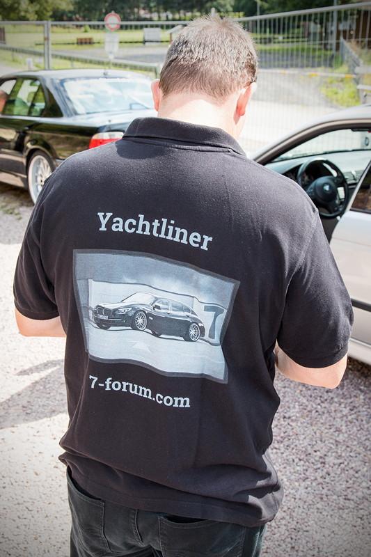 77. Südhessen-Stammtisch, Mit-Organisator Jürgen ('Yachtliner')