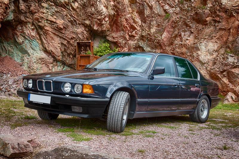 77. Südhessen-Stammtisch: BMW 730i (E32) von Thorsten ('Toti-E32')