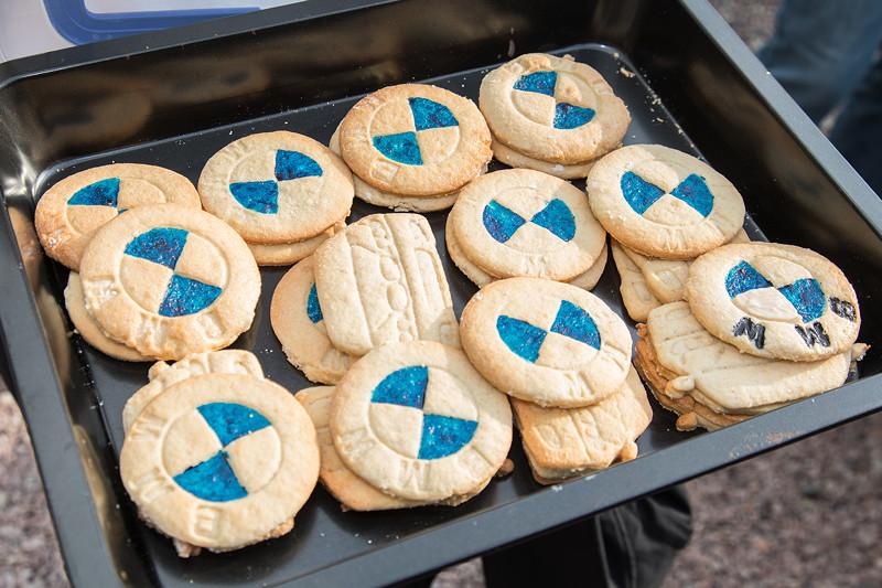 77. Südhessen-Stammtisch, BMW Cookies