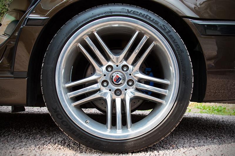77. Südhessen-Stammtisch: BMW 730i (E38) von Ralf ('Ralle735iV8') auf 19 Zoll Alpina Rädern
