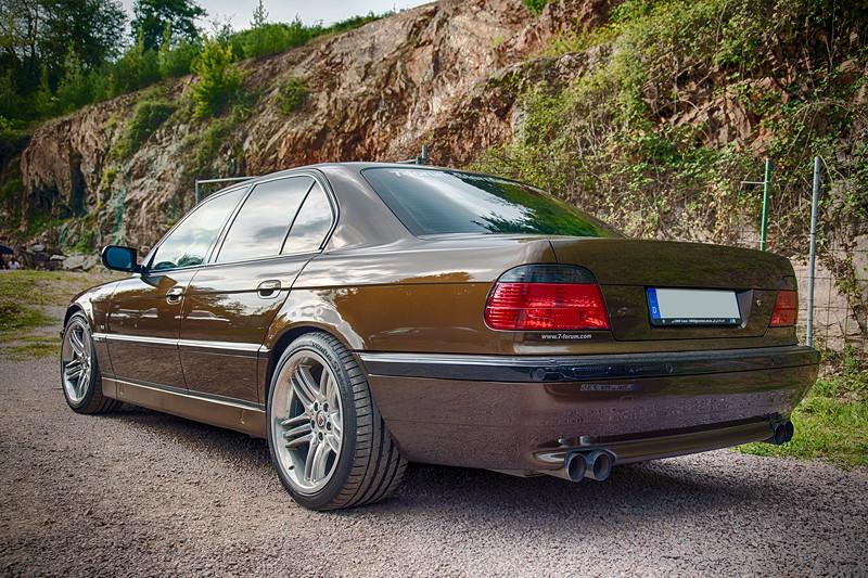 77. Südhessen-Stammtisch: BMW 730i (E38) von Ralf ('Ralle735iV8')