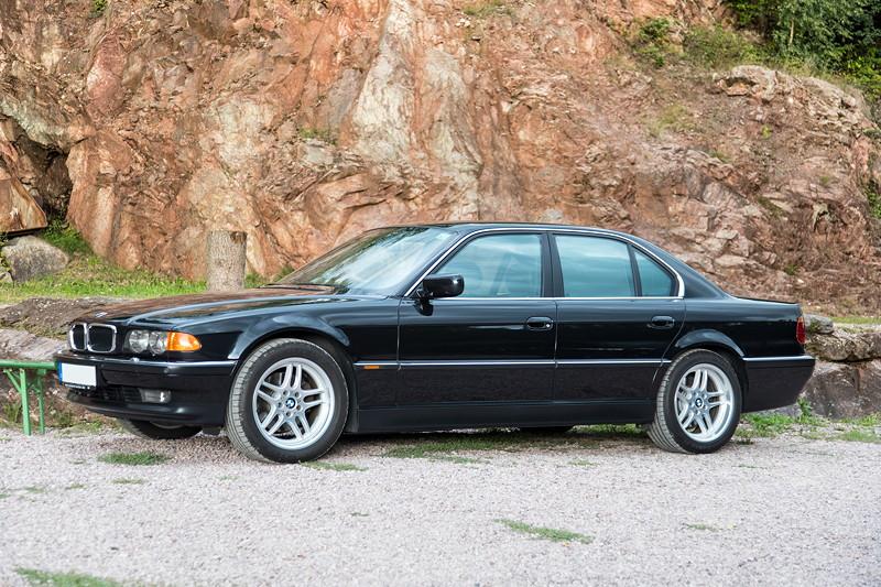 77. Südhessen-Stammtisch: BMW 740i (E38) von 'DM-Driver'