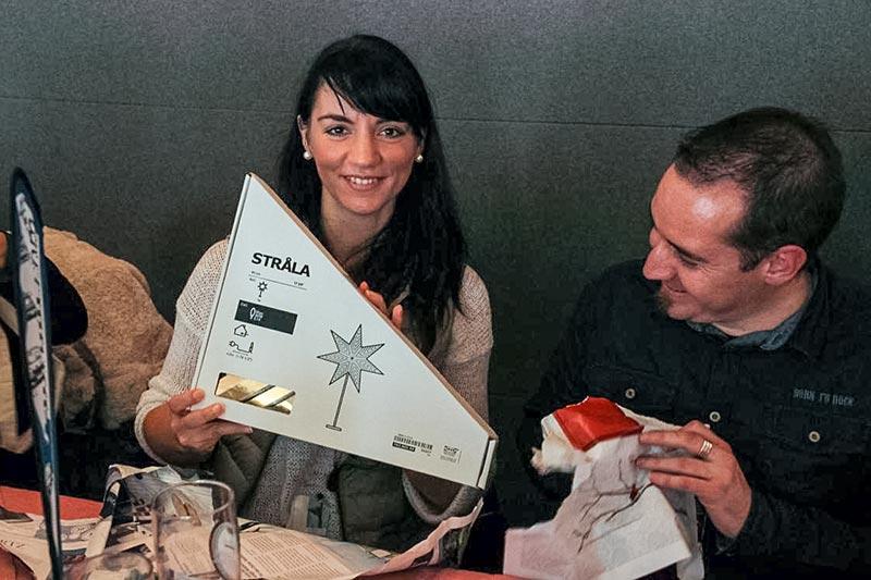 Sirko ('swolfram'), Organisator des 7er-Stammtischs in Halle, und Freundin stellten sich als neue Sternfahrer vor.