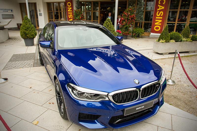 20 Jahre BCD Treffen: Dieser ganz neue BMW M5 wurde noch kurz zuvor auf der IAA in Frankfurt präsentiert.