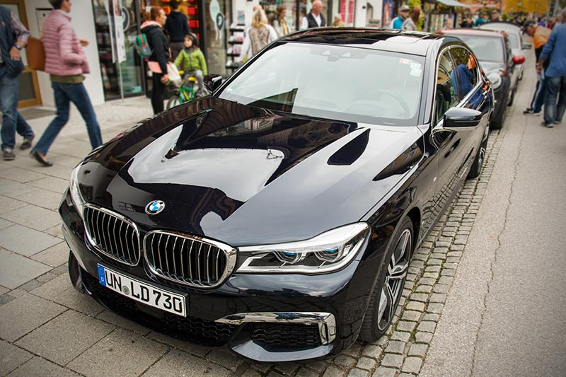 20 Jahre BCD Treffen: Teilnehmerfahrzeug BMW 730Ld (G12) von Christian ('Christian').