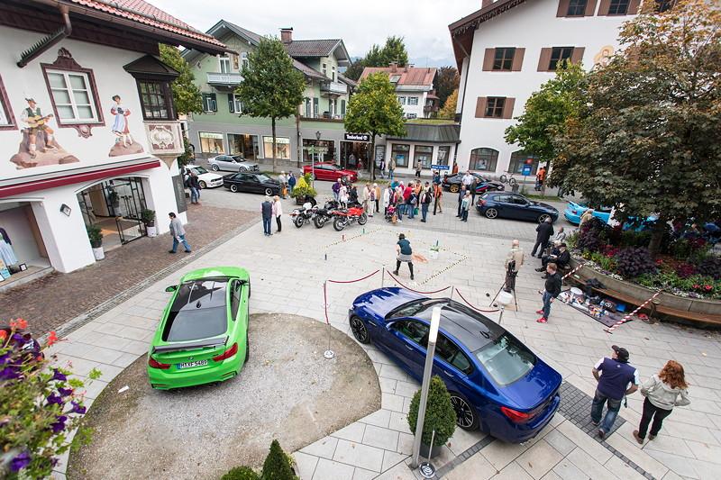 20 Jahre BCD Treffen: Begrüßung der Teilneihmer am Freitag Nachmittag am Casino in Garmisch Partenkirchen.