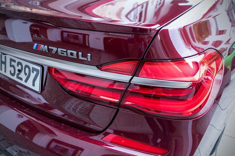 20 Jahre BCD Treffen: BMW M 760li Ausstellungsfahrzeug der BMW M GmbH.
