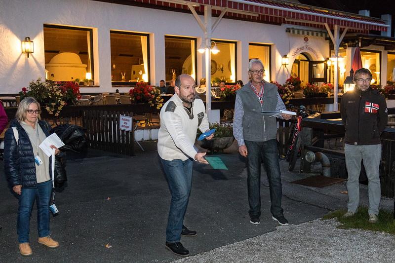 20 Jahre BCD Treffen: bevor es am Freitagabend auf Fackelwanderung ging, konnten Punkte in der BCD Rallye gemacht werden.