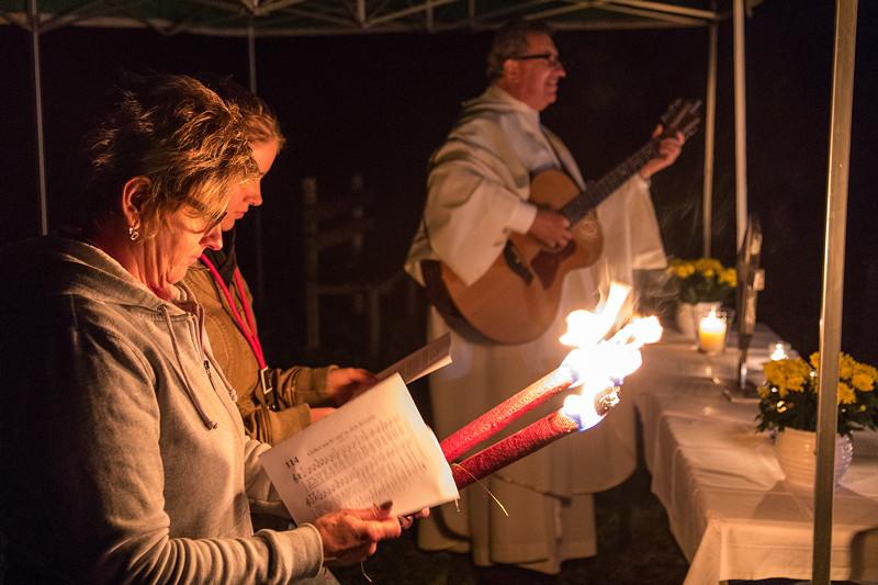 20 Jahre BCD Treffen: Gottesdienst am Freitagabend am Riessersee.