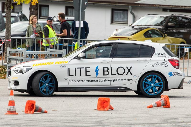 20 Jahre BCD Treffen: BMW 1er auf seiner schnellen Runde am Hausberg.