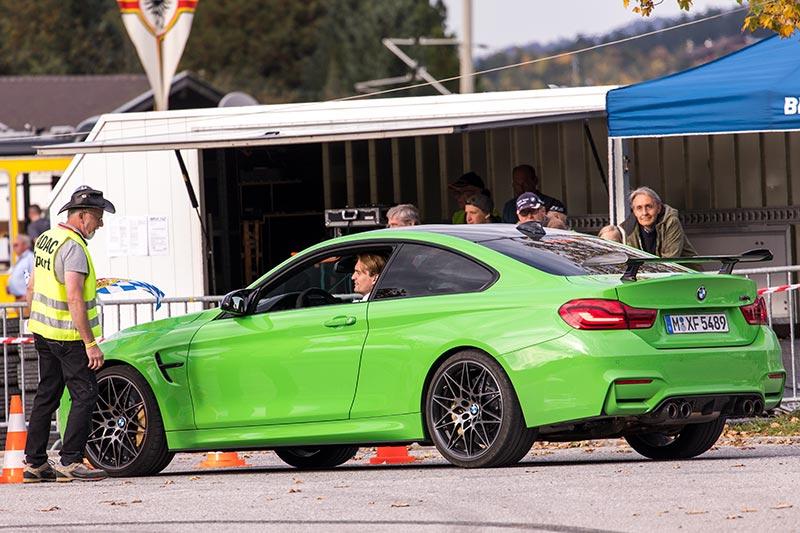 20 Jahre BCD Treffen: BMW M4 mit BMW Werksfahrer Jens Klingmann am Steuer